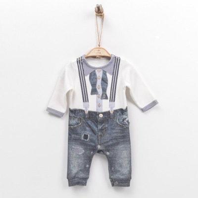 4ed3880d4089c Combinaison dors-bien bébé garçon en coton biologique de 1 mois à 18 mois  -. SEVIRA KIDS