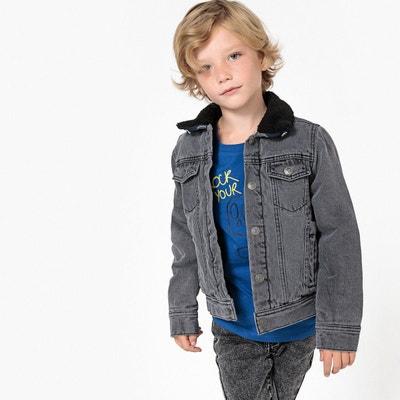 énorme réduction 389e8 41764 Veste en jean enfant garcon   La Redoute