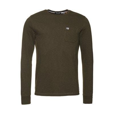 90dced658e3 T-shirt manches longues à poche Surplus Goods SUPERDRY
