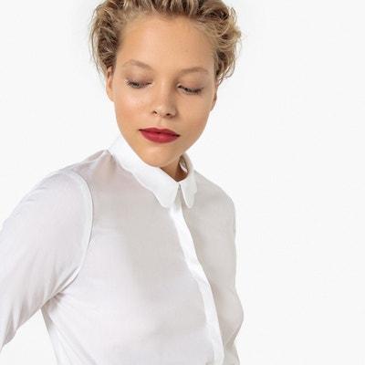 0297e364a5d5d95 Рубашка с красивым воротником из хлопка Рубашка с красивым воротником из  хлопка LA REDOUTE COLLECTIONS