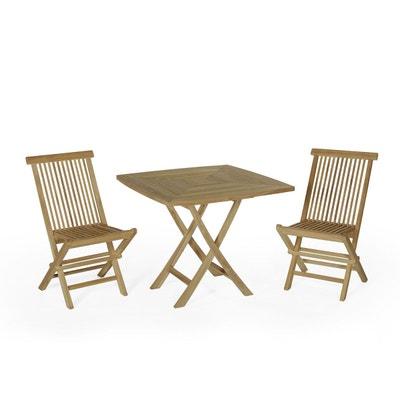 Table de jardin rabattable | La Redoute