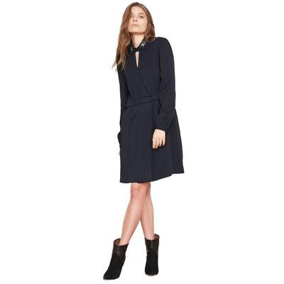 Petite robe noir cache-c ur Petite robe noir cache-c ur. Soldes be8ada40ab0