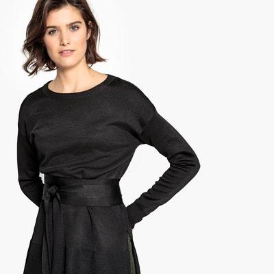 acheter populaire 4de8b 61a10 Pull habille pour femme en noir | La Redoute