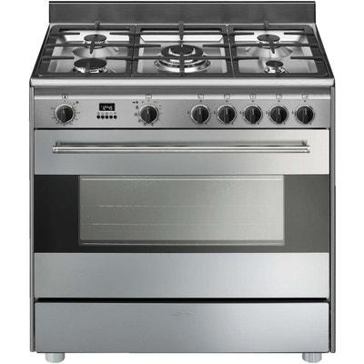 smeg - cuisinière multifonction 115l 5 feux inox - bg91px9 smeg - cuisinière  multifonction 115l 5 d3cca4ba8b8f