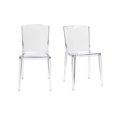 Chaises Design Empilables (lot De 2) ISLAND Chaises Design Empilables (lot  De 2