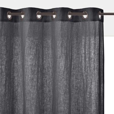 f0aba608c57 Cortina de lino lavado con ojales ONEGA LA REDOUTE INTERIEURS