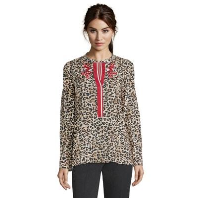 détaillant en ligne 138f3 3e9fd Chemisier leopard | La Redoute
