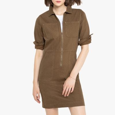 Rechte korte jurk, lange mouwen Rechte korte jurk, lange mouwen LA REDOUTE COLLECTIONS