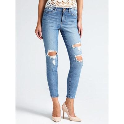 40e5406e634 Jeans Skinny Déchiré GUESS