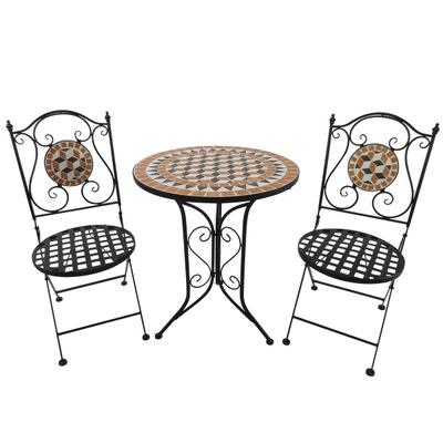 Ensemble table, chaise de jardin Outsunny | La Redoute