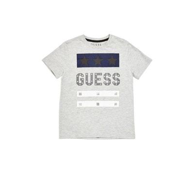 T-shirt Logo Frontal Imprime T-shirt Logo Frontal Imprime GUESS KIDS 2f4e57b5247