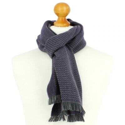 3f6d8a50575e7 Echarpe en laine d'Australie, 35x180cm, Mauve Echarpe en laine d'Australie