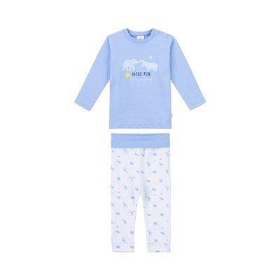 3cc41c2137976 Sanetta Le pyjama long Animaux pyjama bébé tenues de nuit bébé SANETTA