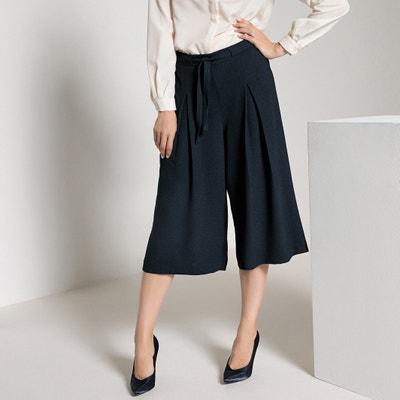 Falda pantalón de crepé Falda pantalón de crepé ANNE WEYBURN 8cf6aba76766