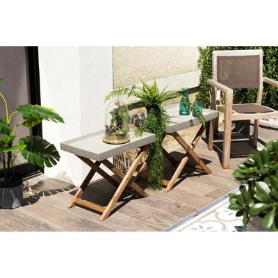 Mobilier de jardin en beton | La Redoute