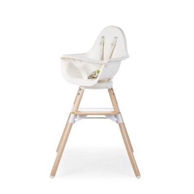 Child Wood Coussin de transat Evolu Newborn Blanc /à pois or