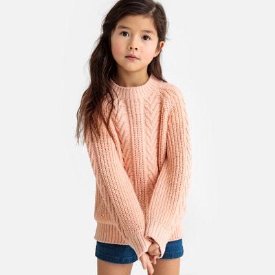 d84fb4b2adbc5 Пуловер с круглым вырезом из трикотажа 3-12 лет Пуловер с круглым вырезом  из трикотажа