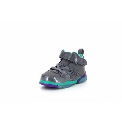 83ee57d4eb0cb Basket Nike Jordan Flight Club 91 Bébé - 555330-009 Basket Nike Jordan  Flight Club