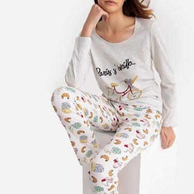 2e9500299c Pijama 100% algodón Pijama 100% algodón LA REDOUTE COLLECTIONS