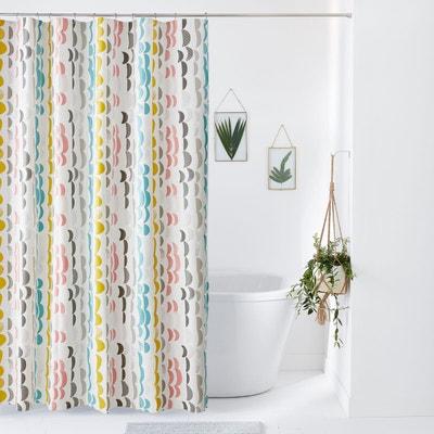 rideau de douche linge de bain la redoute. Black Bedroom Furniture Sets. Home Design Ideas