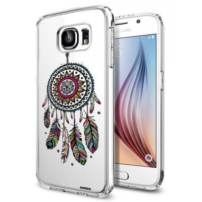 00865aaeb21 Coque Samsung Galaxy S6 rigide transparente Attrape rêve Ecriture Tendance  et Design Evetane Coque Samsung Galaxy