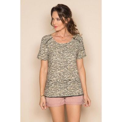 b4c0b627ba253 T-shirt imprimé manches courtes SABLE DEELUXE