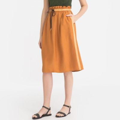 e1ff8b0b10 Two-Tone Full Midi Skirt Two-Tone Full Midi Skirt MAISON SCOTCH