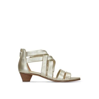 2e140570a905e2 Mena Silk Leather Sandals CLARKS