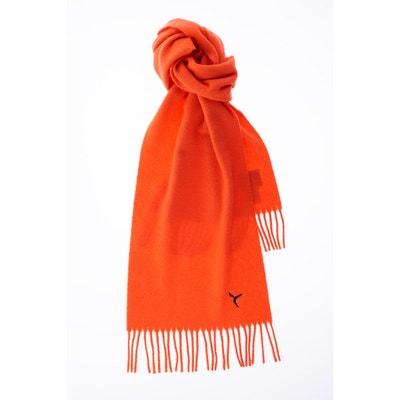 Echarpe a franges laine vierge Echarpe a franges laine vierge CARNET DE VOL b3c2eca0cf0