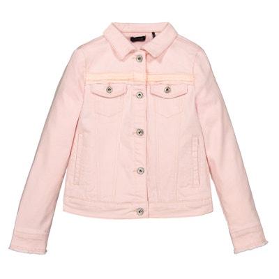 4f94cdab40f20 Veste fille - Veste en jean, en simili cuir, polaire en solde   La ...