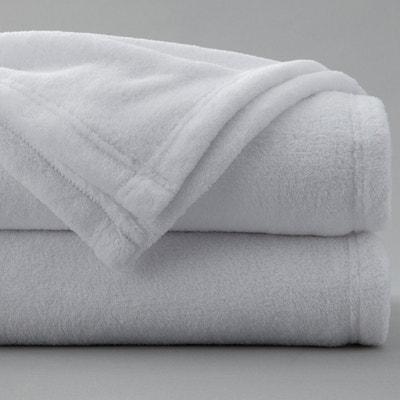 couverture blanche la redoute. Black Bedroom Furniture Sets. Home Design Ideas