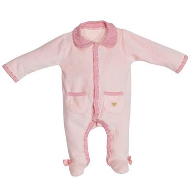 85e5faf613bab Pyjama Velours 1 mois MILA SAUTHON Pyjama Velours 1 mois MILA SAUTHON  SAUTHON BABY DECO