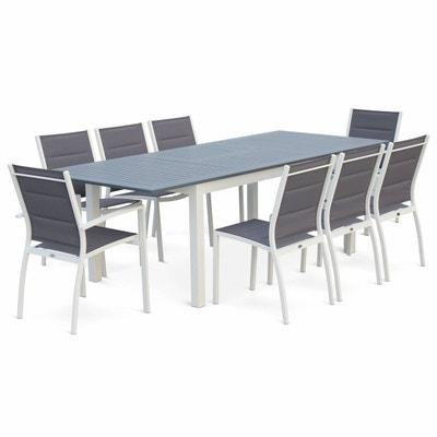 Table de jardin aluminium | La Redoute