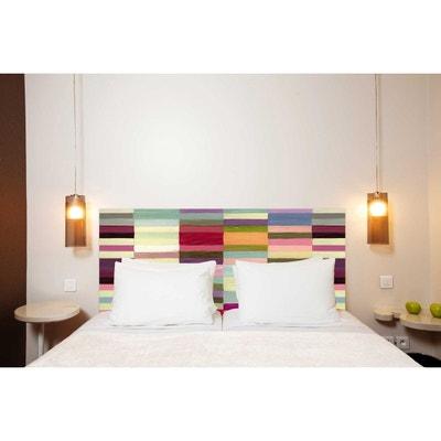 Tête de lit en tissu Berlingot, fixation murale Tête de lit en tissu  Berlingot, 1e72e9536300
