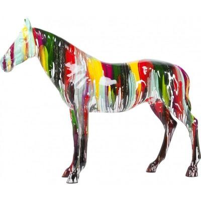 bf61cb19f528c0 Déco cheval multicolore XXL Kare Design Déco cheval multicolore XXL Kare  Design KARE DESIGN