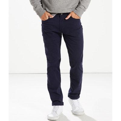 e30824190c164 Pantalon en toile de coton stretch coupe 511 slim Pantalon en toile de  coton stretch coupe