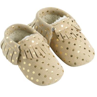 chaussures de séparation 16954 84d45 Chausson en cuir enfant | La Redoute
