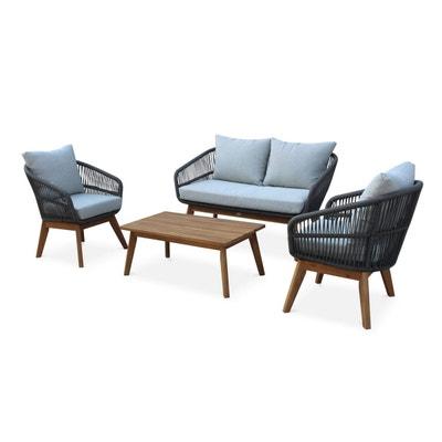 Salon de jardin bois et métal | La Redoute