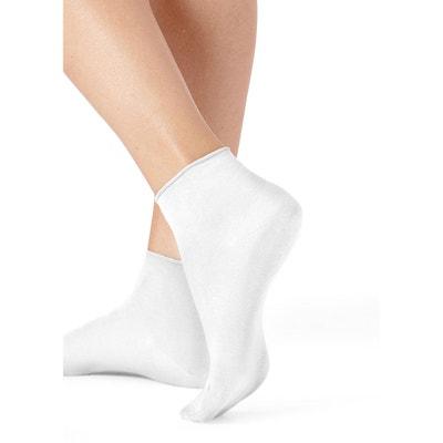 3cc6689a2fe5c Chaussettes invisibles coton sans bord très courtes Chaussettes invisibles  coton sans bord très courtes CALZEDONIA