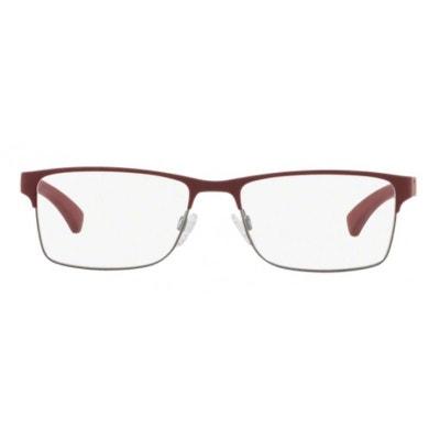 Lunettes de vue pour homme EMPORIO ARMANI Bordeaux EA 1052 3232 53 17  EMPORIO ARMANI 7f9edff82f05