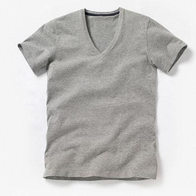 cc8bcf6c86726 Tee shirt col V profond Oeko Tex