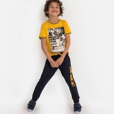 de666bf0b113b Pantalon de sport en molleton 3-12 ans Pantalon de sport en molleton 3-. LA  REDOUTE COLLECTIONS