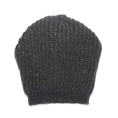 567eb89286975 Bonnet en tricot, fils métallique LA REDOUTE COLLECTIONS