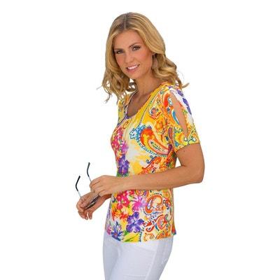 Redoute Femme T D'azurLa Bleu Shirt UzMGLpVqS