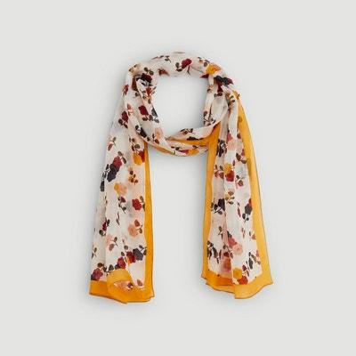 3bf01d3cc57 Etole en soie imprimée fleurs Etole en soie imprimée fleurs MONOPRIX