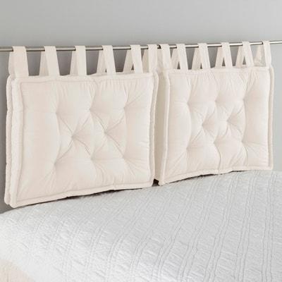 dd0cf6971f Cuscino testata del letto in puro cotone, Scenario LA REDOUTE INTERIEURS