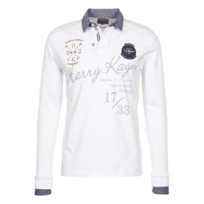 38c1d0317a34 Harry Kayn-Polo Homme CAZBI- blanc HARRY KAYN