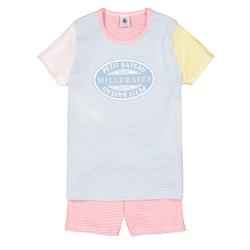 Pijama con short, 3-12 años