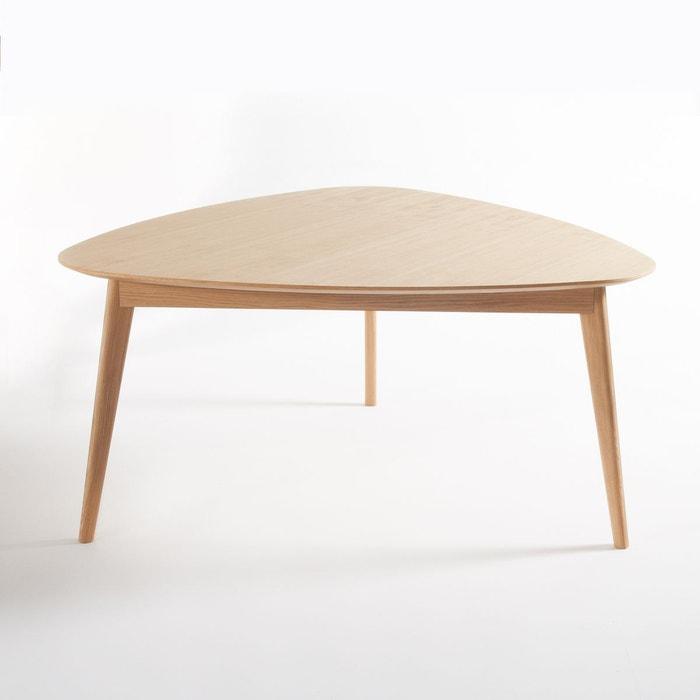 Table à Manger Triangulaire Chêne 6 Couv Biface