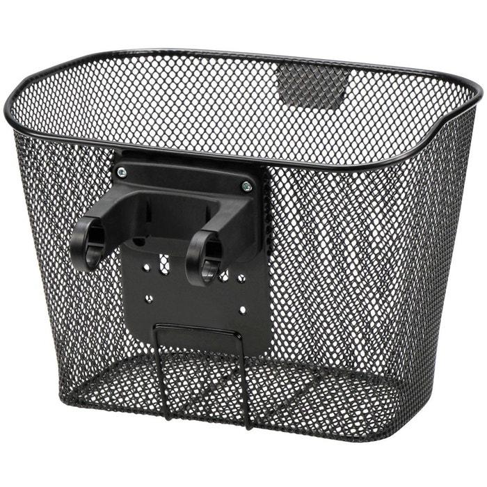 panier e panier v lo avec support noir noir klickfix. Black Bedroom Furniture Sets. Home Design Ideas